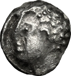 obverse: Etruria, Populonia. AR As (Libella), 3rd century BC