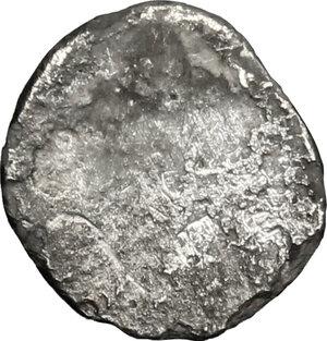 reverse: Etruria, Populonia. AR As (Libella), 3rd century BC