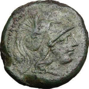 obverse: Central and Southern Campania, Capua. AE Uncia, 216-211 BC