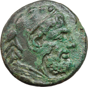 obverse: Northern Apulia, Teate. AE Quadrunx, c. 225-200 BC