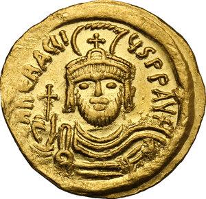 obverse: Heraclius (610-641).. AV Solidus, Constantinople mint