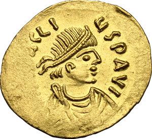 obverse: Heraclius (610-641).. AV Semissis, Constantinople mint, 610-613 AD