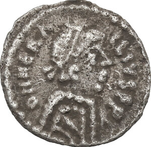 obverse: Heraclius (610-641).. AR 1/4 Siliqua, Ravenna mint