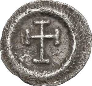 reverse: Heraclius (610-641).. AR 1/4 Siliqua, Ravenna mint