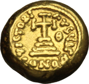 reverse: Constans II (641-668).. AV Solidus, Carthage mint