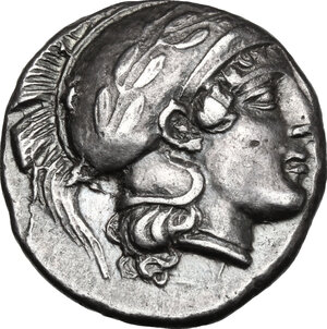 obverse: Southern Lucania, Thurium. AR Stater, 443-400 BC
