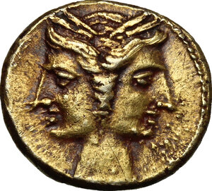 obverse: Central and Southern Campania, Capua.  Carthaginian at \