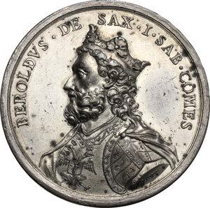 obverse: Beroldo (998-1026), Primo Conte di Savoia. Medaglia di restituzione