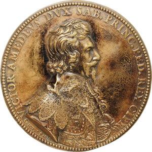 reverse: Casa Savoia.  Vittorio Amedeo I (1630-1637). Medaglia 1636
