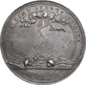 reverse: Eugenio di Savoia (1663-1736). Medaglia 1716 per la presa di Timisoara durante la guerra contro la Turchia
