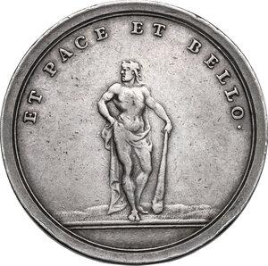 reverse: Eugenio di Savoia (1663-1736).. Medaglia celebrativa
