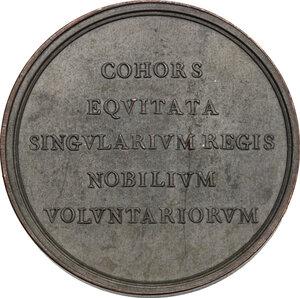 reverse: Vittorio Emanuele I (1802-1821).. Medaglia 1814, per la Guardia Nobile a cavallo in occasione del ritorno del Re a Torino