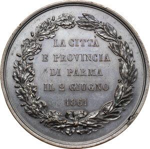 reverse: Vittorio Emanuele II  (1820-1878).. Medaglia 1861