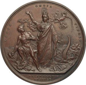obverse: Umberto I (1878-1900).. Medaglia 1881 per la Mostra di Agricoltura, Industria ed Arte in Milano