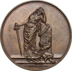 reverse: Umberto I (1878-1900). Medaglia 1884 per il pellegrinaggio in occasione della traslazione della salma di Vittorio Emanuele II nella definitiva tomba monumentale al Pantheon