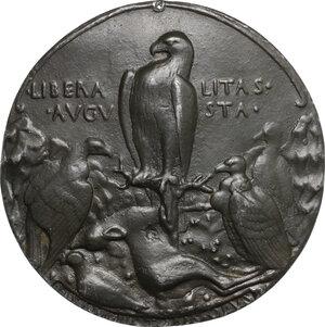 reverse: Alfonso V Re di Napoli e di Sicilia (1396-1458). Medaglia fusa 1449