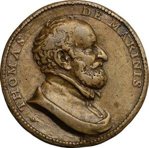 obverse: Tommaso de Marini (1475-1572) Duca di Terranova. Medaglia