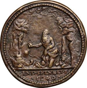 reverse: Girolamo Querini (1461-1543), Senatore veneziano.. Medaglia 1540