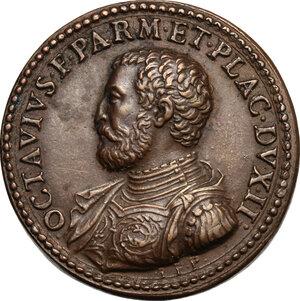obverse: Ottavio Farnese (1524-1586) duca di Parma e Piacenza. Medaglia coniata