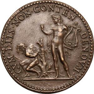 reverse: Ottavio Farnese (1524-1586) duca di Parma e Piacenza. Medaglia coniata