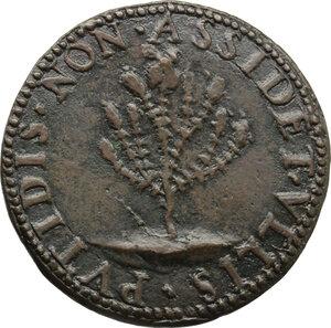 reverse: Ippolito Bracciolini (sec. XVI), comandante della fanteria di Venezia. Medaglia (1560)