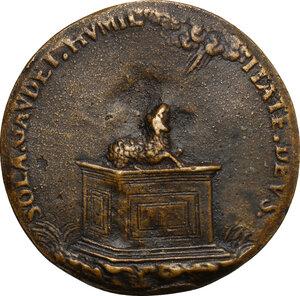 reverse: Carlo Borromeo (1538-1584), Cardinale ed Arcivescovo di Milano. Medaglia celebrativa s.d. (1578)