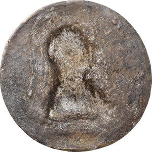 reverse: Attila (406-453), re degli Unni.. Medaglia unifacie, XVII sec