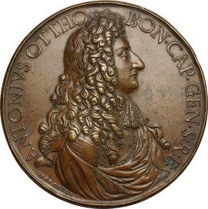 obverse: Antonio Ottoboni (1646-1720), capitano generale di Santa Romana Chiesa. . Medaglia s.d. primo quarto del XVIII secolo