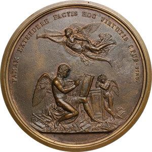 reverse: Pietro Verri (1728-1797), economista e filosofo.. Medaglia fusa 1797, commemorativa