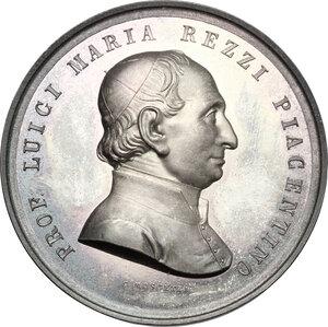 obverse: Luigi Maria Rezzi (1785-1857). Medaglia 1900 per concorso letterario