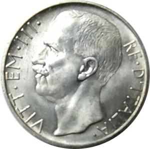 obverse: Casa Savoia. Vittorio Emanuele III. 10 Lire 1929 **. Ag.FDC. Minimi segni ma esemplare di grande freschezza. NC. rf10