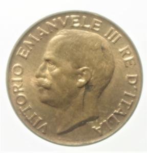 obverse: Casa Savoia. Vittorio Emanuele III. 5 Centesimi 1919. R. Rame rosso . FDC.ex Tintinna 80 lotto 603 aggiudicato ma non pagato