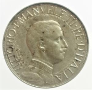 obverse: Casa Savoia. Vittorio Emanuele III. 2 lire 1912. Gig 99. BB.***