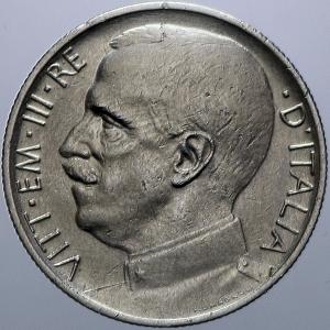 obverse: Casa Savoia. Vittorio Emanuele III. 50 centesimi 1919 Rigato. Conservazione superiore alla norma.Rf