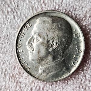 obverse: Casa Savoia. Vittorio Emanuele III. 50 centesimi 1920 rigato. SPL+. R in questa qualit. Rf