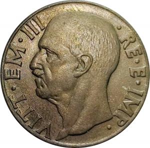 obverse: Casa Savoia. Vittorio Emanuele III. 10 centesimi 1943 FDC. Eccezionale.rf