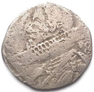 reverse: Napoli Filippo III (1598-1621). 15 grani. D/ Busto a sinistra. R/ Castello. Gr 2,01. AG.