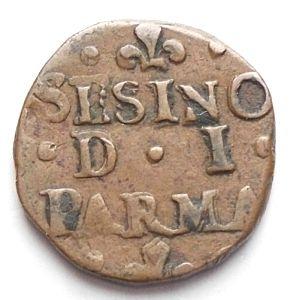 obverse: Zecche Italiane. Parma. Francesco Farnese. Sesino. gr 1,56. R