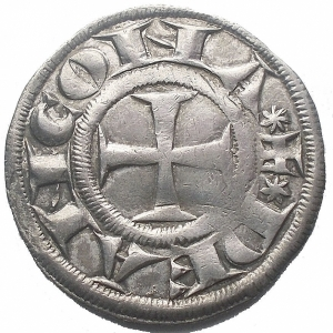 reverse: Ancona. XIII° Sec. Grosso Ag. gr 2,4 Buon esemplare