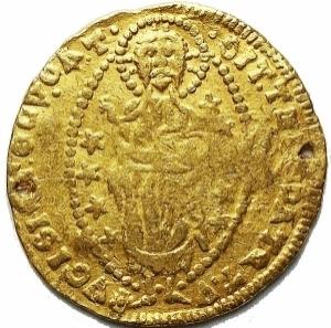 reverse: Venezia Ducato in Au da catalogare. gr 3,5. mm 20,8. Forellini