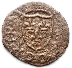 obverse: Chieti. Carlo VIII (1495). Cavallo Ae. gr 0,66