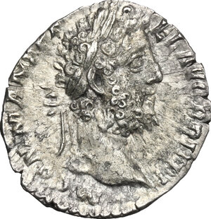 obverse: Commodus (177-193).. AR Denarius, 190-191
