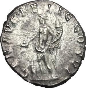 reverse: Commodus (177-193).. AR Denarius, 190-191