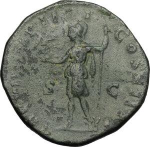 reverse: Commodus (177-193).. AE Sestertius, 181-182 AD
