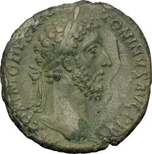 obverse: Commodus (177-192).. AE Sestertius, 183 AD
