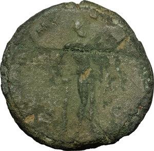 reverse: Commodus (177-192).. AE Sestertius, 183 AD