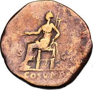 reverse: Commodus (177-193).. AE Sestertius, 190 AD