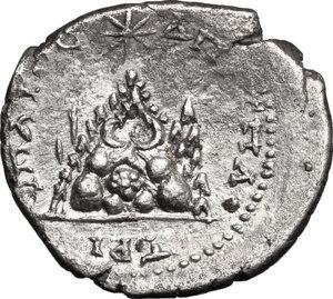 reverse: Commodus (177-193).. AR Didrachm, Cappadocia, Caesarea mint, 183-185