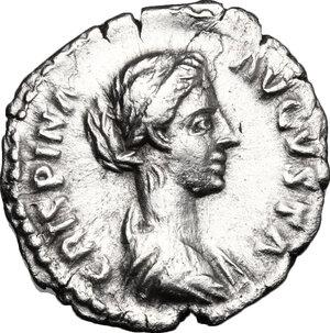obverse: Crispina, wife of Commodus (died 183 AD).. AR Denarius, 178-183