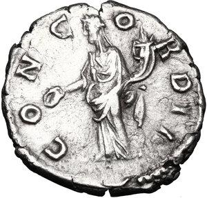reverse: Crispina, wife of Commodus (died 183 AD).. AR Denarius, 178-183